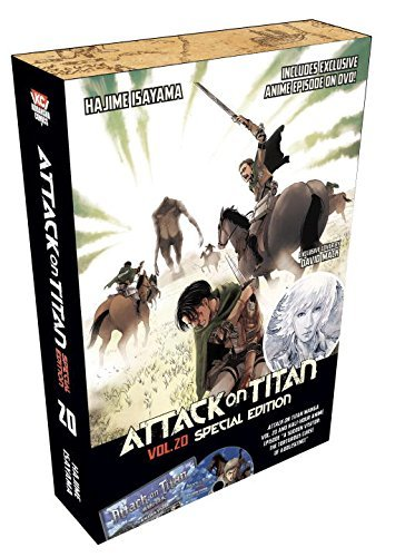 Hajime Isayama Attack On Titan Volume 20 [with Dvd] Special