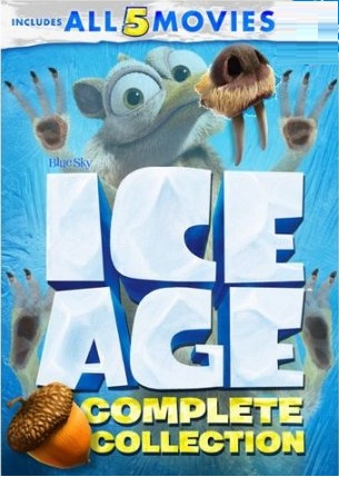 Ice Age Complete 5 Movie Collection Ice Age The Meltdown Dawn Of The Dinosaurs Continental Drift Collision Course