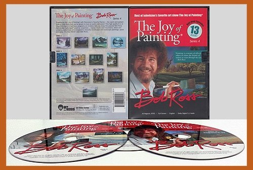 Joy Of Painting Series 4 3 DVD