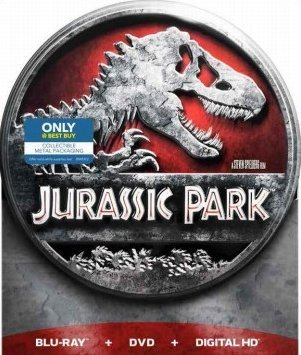 Jurassic Park Jurassic Park Limited Edition Metal Tin Packaging