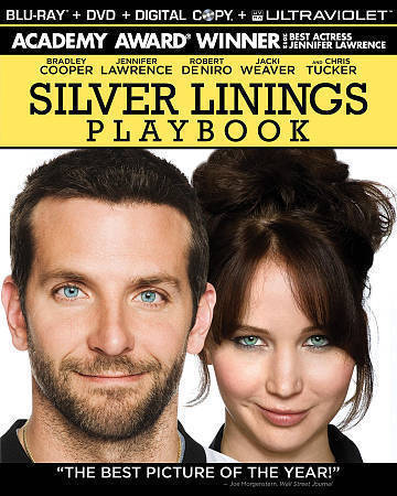 Silver Linings Playbook Cooper Lawrence Deniro Blu Ray