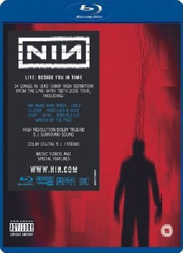 Nine Inch Nails Nine Inch Nails Live Beside Y Blu Ray Explicit Version Nr