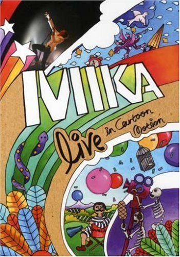 Mika Live In Cartoon Motion Live In Cartoon Motion