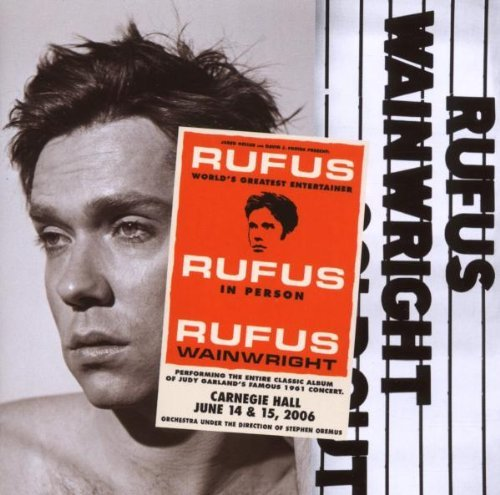 Rufus Wainwright Rufus Does Judy At Carnegie Ha 2 CD