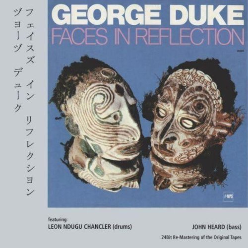 George Duke Faces In Reflection