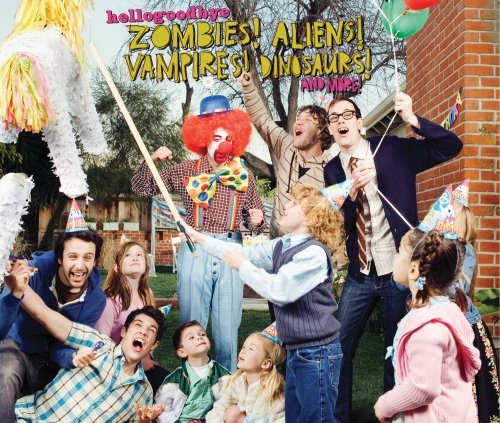 Hellogoodbye Zombies! Aliens! Vampires! Din 2 CD Incl. Bonus DVD