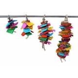 Color Splash Toy Md 24 Java Wood Color Splash Bird Toy Medium Ea