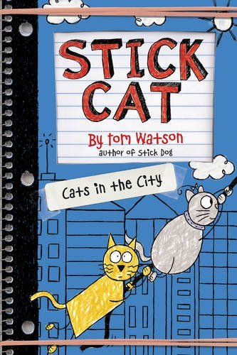 Tom Watson Stick Cat Cats In The City
