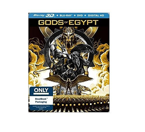 Gods Of Egypt Thwaites Butler Coster Waldau Limited Edition Steelbook