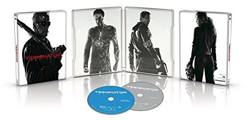 Terminator Genisys Schwarzenegger Clarke Courtney Simmons Limited Edition Steelbook