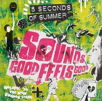 5 Seconds Of Summer Sounds Good Feels Good Ltd Target Edition