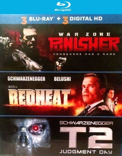 Punisher Redheat T2 Judgment Day Triple Feature