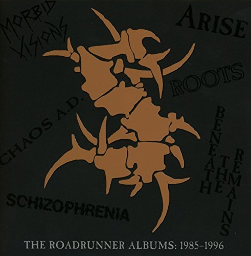 Sepultura The Roadrunner Albums 1985 1996 6 CD Set