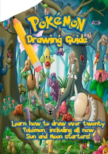 Go With The Flo Books Pokemon Drawing Guide Learn How To Draw Over Twenty Pokemon Including