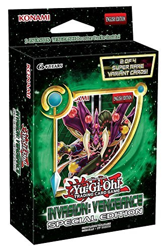 Yu Gi Oh Cards Invasion Vengeance Special Edition