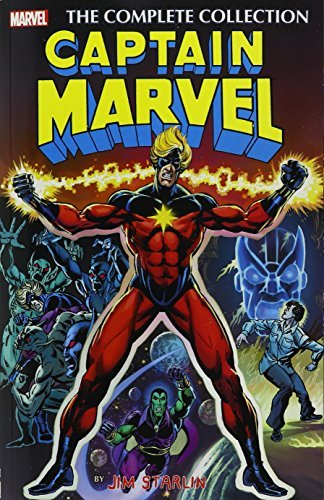 Jim Starlin Captain Marvel The Complete Collection