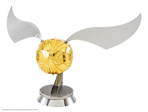 Metal Earth Golden Snitch