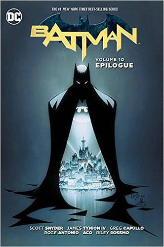 Scott Snyder Batman Vol. 10 Epilogue