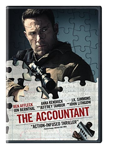 Accountant Affleck Kendrick Simmons DVD R
