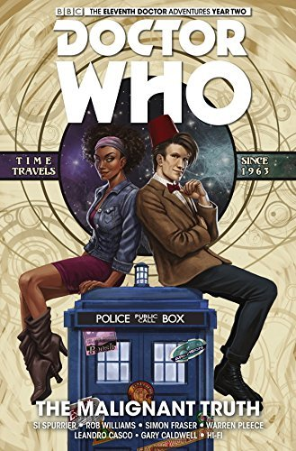 Si Spurrier Doctor Who The Eleventh Doctor Volume 6