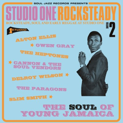 Soul Jazz Records Presents Studio One Rocksteady 2 2lp Gatefold W Dl