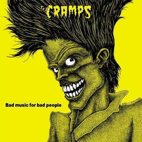 Cramps Bad Music For Bad People (yellow) Lp