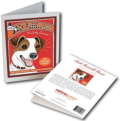 Retro Card Jack Russell Roast