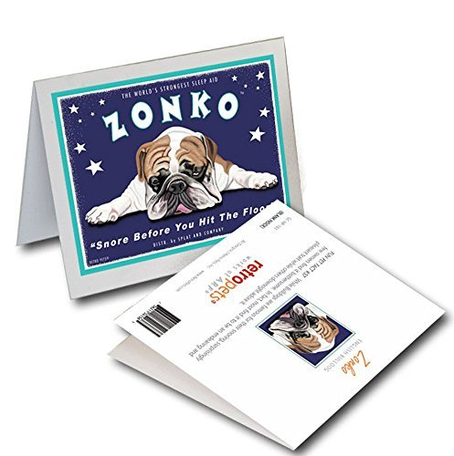 Retro Card Zonko Bulldog