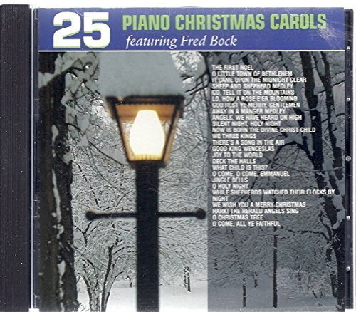 Twenty Five Piano Christmas Ca 25 Piano Christmas Carols