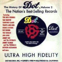 History Of Dot Records Vol. 2 History Of Dot Records Hunter Clark Jarvis Lowe Todd Alexander Love Fireballs Boone