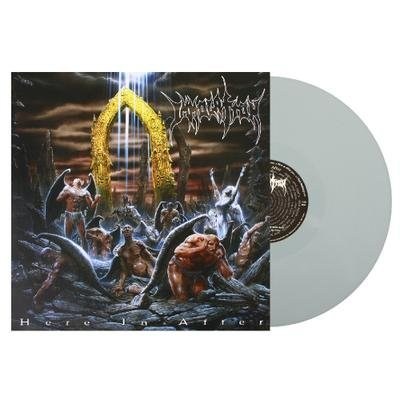 Immolation Here In After (red Transparent Vinyl)