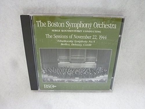 Boston Sym Orch Sessions Of Nov 22 1944 Koussevitzky Boston Sym Orch