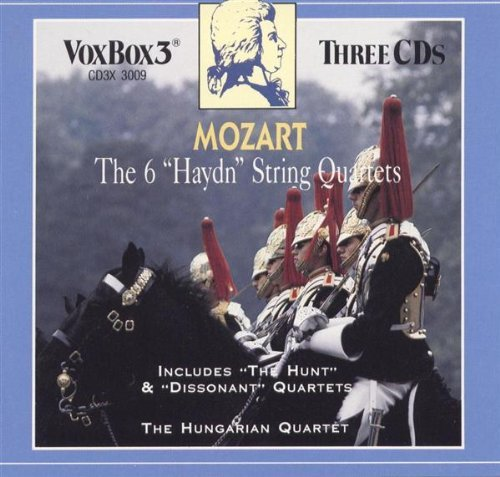 Hungarian Quartet Mozart The 6 Haydn Quartets