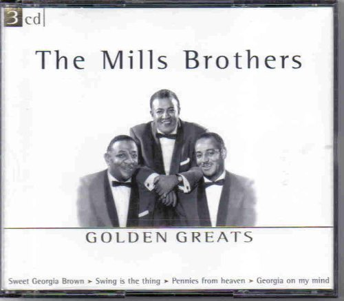 Mills Brothers Golden Greats 3 CD Set