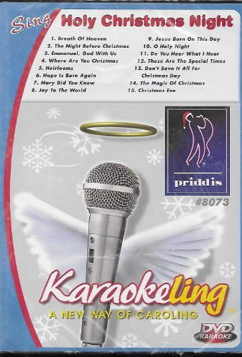 Karaoke Holy Christmas Night Clr Nr