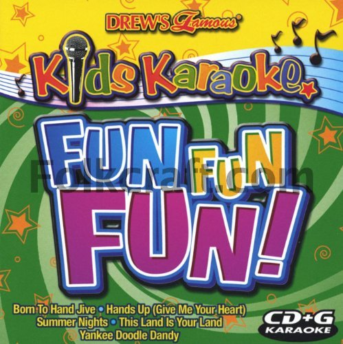 Drew's Famous Party Music Kids Karaoke Fun Fun Fun Drew's Famous Party Music