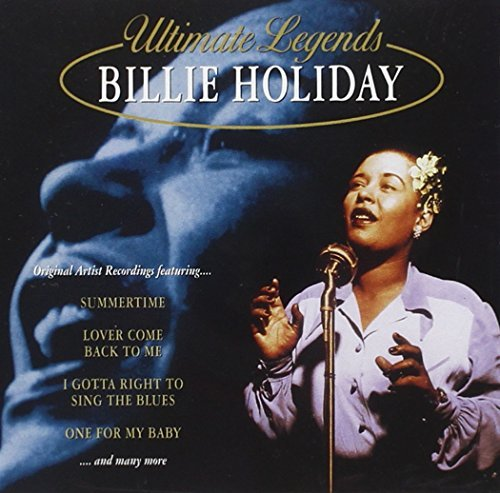 Billie Holiday Ultimate Legends Billie Holida