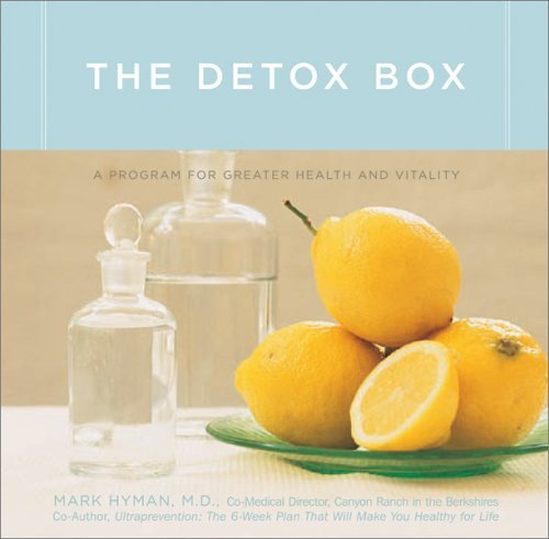 Mark Hyman The Detox Box A Program For Greater Health And Vitality [with C