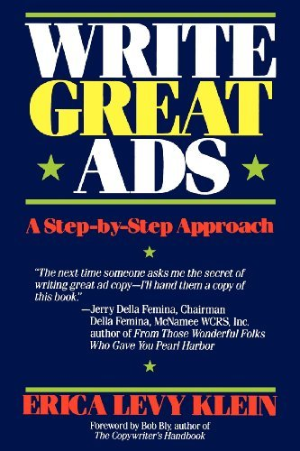Erica Levy Klein Write Great Ads A Step By Step Approach
