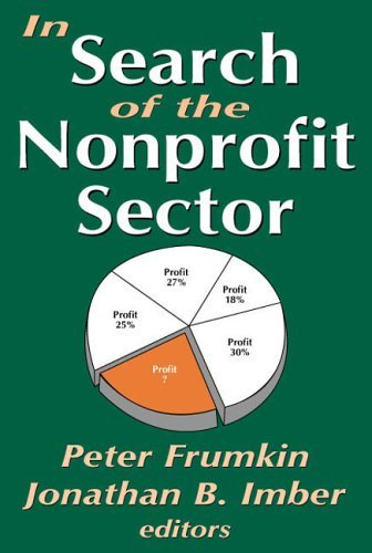 Jonathan B. Imber In Search Of The Nonprofit Sector