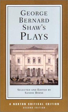 George Bernard Shaw George Bernard Shaw's Plays 0002 Edition;