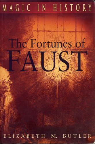 Elizabeth M. Butler The Fortunes Of Faust