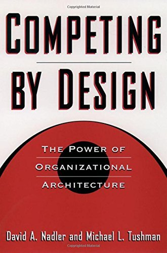David Nadler Competing By Design The Power Of Organizational Architecture 0002 Edition;