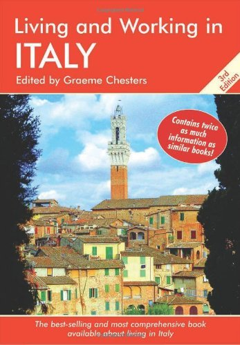 Graeme Chesters Living And Working In Italy A Survival Handbook 0 Edition;