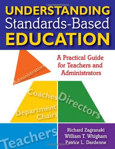 Richard A. Zagranski Understanding Standards Based Education A Practical Guide For Teachers And Administrators