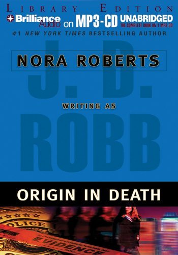 J. D. Robb Origin In Death Library Mp3 CD