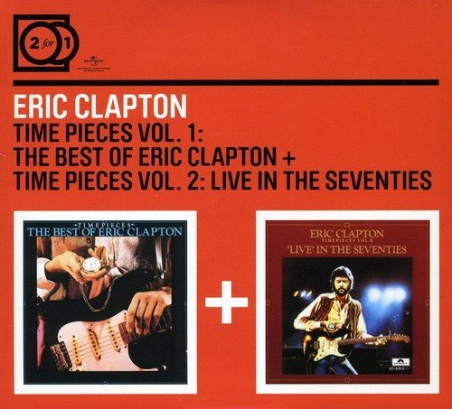 Eric Clapton Time Pieces Vol. 1 & Vol. 2 Import Eu 2 CD