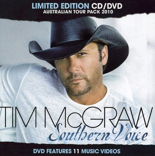 Tim Mcgraw Southern Voice Limited Edition Import Aus Incl. DVD