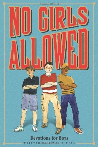 Ed Pub Concepts No Girls Allowed Devotions For Boys