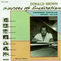 Donald Brown Sources Of Inspiration